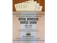 Tickets for Royal Windsor Horse Show (Windsor Enclosure seats)