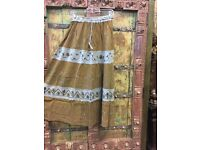 boheme girl patchwork skirts