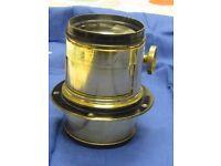 Dallmeyer Patent 2b Portrait lens c. 1868 Ser.no. 14404
