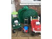 Bundle of little tikes outdoor toys