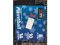 Paintball tickets £50