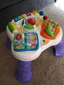 Vtech Play and Learn Activity Table Excellent Condition