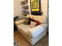 Very comfy two-seater sofa