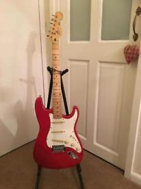 Vintage Fender Squier Stratocaster - Korean M prefix serial no Korean