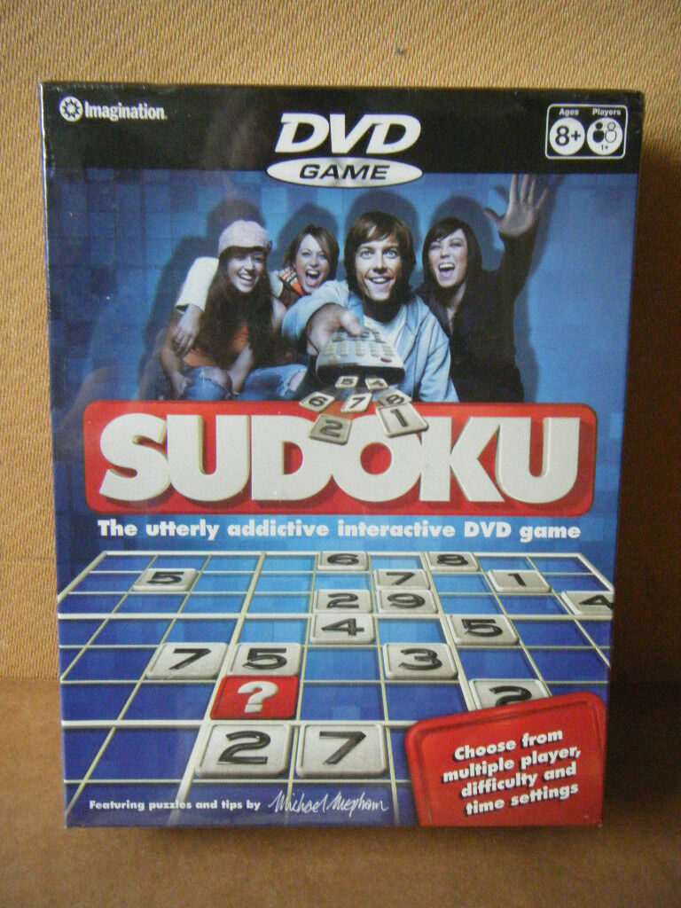 (Sudoku) DVD Game. Imagination games 2006. Brand new and Sealed.
