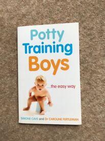 Toilet Training Boys Bundle (book, potty & seats)
