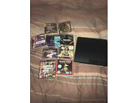 PlayStation 3 with 10 games.