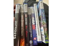 loads new ps5 games for sale see all pictures ask for prices on games