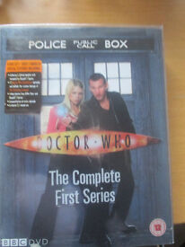 Doctor Who: The Complete First Series DVD box set