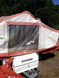 penine aztec trailer tent