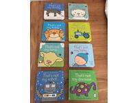 Children's books bundle - That's Not My...