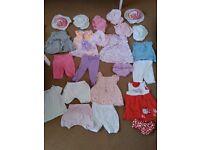 Summer baby outfits 6-12mths loads sun hats 12-18mths ml5