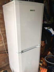 Beko White Frost Free Fridge Freezer