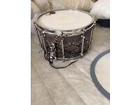 Pearl Vinnie Paul 14x8 signature snare drum maple