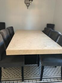 Beutiful Marble Dining Table
