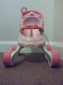 Fisher Price Pink Light Up, Musical Childs Buggy Walker