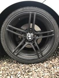 "BMW 19"" 313 alloys (not mv3 mv4 cls m3)"