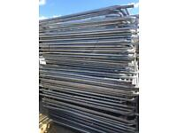 Used heras fence panels