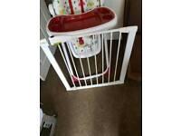 Baby feeding seat & gates