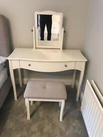 Laura Ashley dressing table and stool