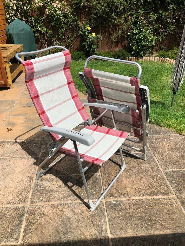 Sensational Dukdalf Aspen Reclining Garden Chairs In Bedford Bedfordshire Gumtree Ocoug Best Dining Table And Chair Ideas Images Ocougorg