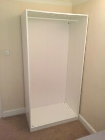 White Wardrobe Frame