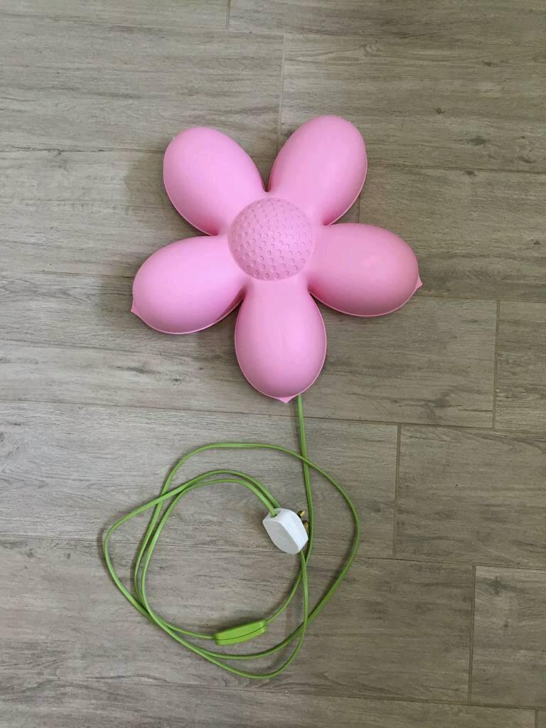Ikea Pink Flower Wall Light Smila Blomma In Carrick Knowe