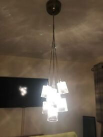 Whisky Glass Cluster Light Fitting