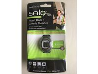 *Brand new* RRP £49.99 solo 915 heart rate and calorie monitor watch