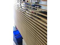 Light Oak colour Venetian blinds