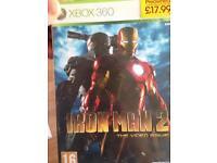 Xbox 360 iron man 2 game