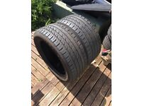 2 tyres size 235, 50,r18