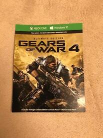 Gear Of War 4 Ultimate Edition Digital Xbox One