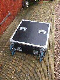 Mint Condition Allen & Heath GL2200 analogue mixing desk with originl flight case
