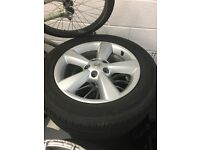 4 Nissan Qashqai alloy wheels here's my spare set of alloy wheels for a qashqai they may fit others