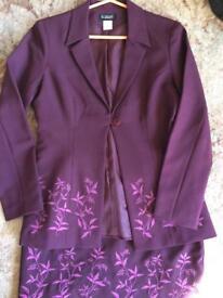 Ladies skirt and jacket
