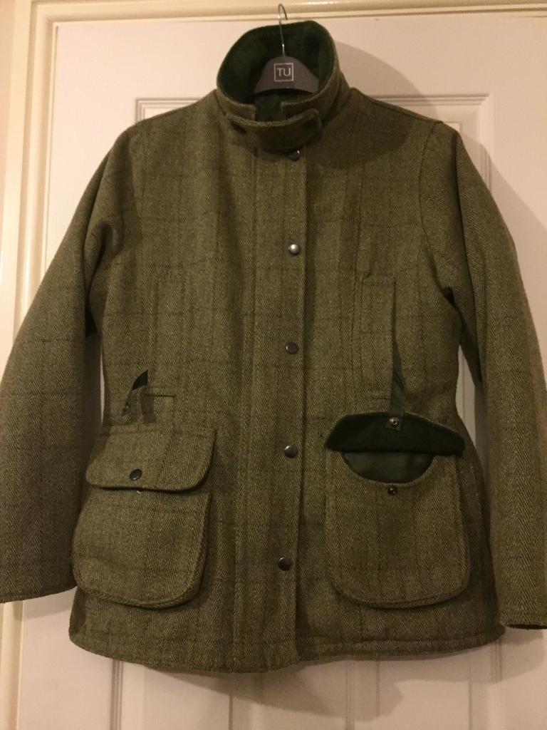 Ladies Tweed Shooting Jacket Sold In Didcot