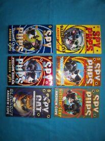 Spy Pups Books x 6 IP1