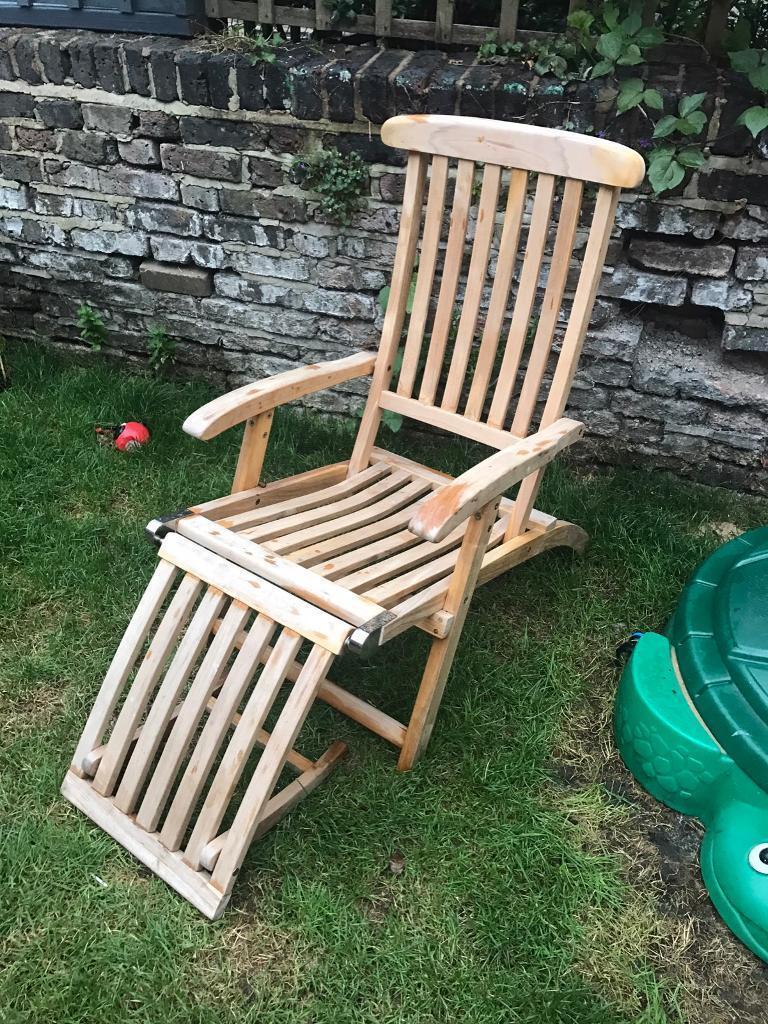 Neptune Classics High Quality Teak Steamer Chair