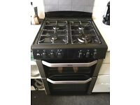 Belling Freestanding cooker/grill BARELY USED. Gas hob, double electric oven