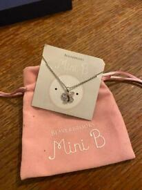Mini B- beaverbrooks necklace