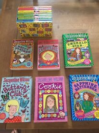 Jacqueline Wilson books, used but good condition