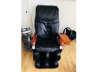 Reclining Full Body Massage Chair W/Heat-Black