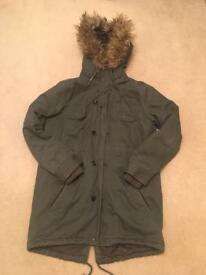 River Island hooded parka