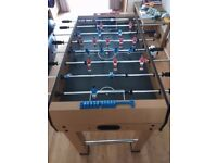 Wooden Gemini football table 4ft