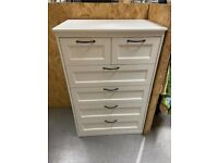 SONGESAND Chest of 6 drawers, white82x126 cm IKEA Croydon #bargaincorner