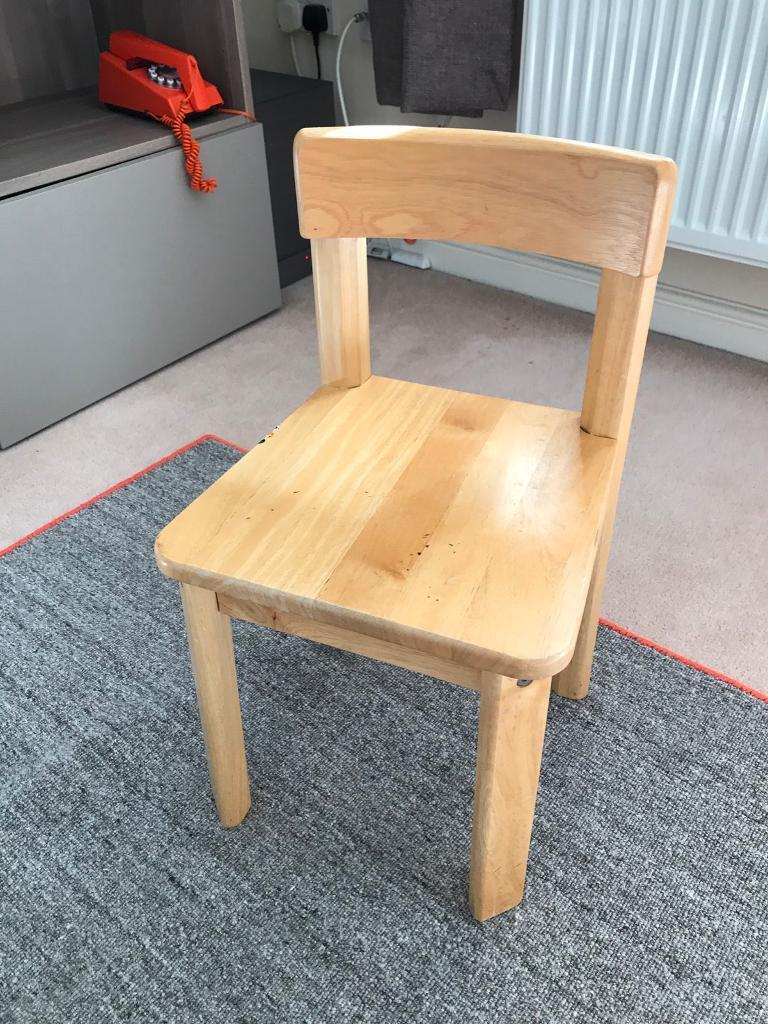 Child's small wooden chair