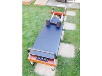 Nordic plate exercise table