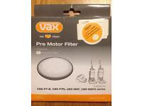 Vax Vacuum cleaner Pre Motor Filter