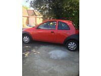 3 door 1.3 hatchback red ford k a